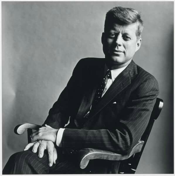 JFK by Irving Penn