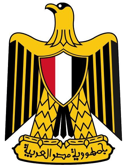The Arab Eagle In Egypt Also Known As The Eagle Of Saladin نسر صلاح الدين Or The Republican Eagle النسر الجمهورى I Egypt Flag Egyptian Flag Coat Of Arms