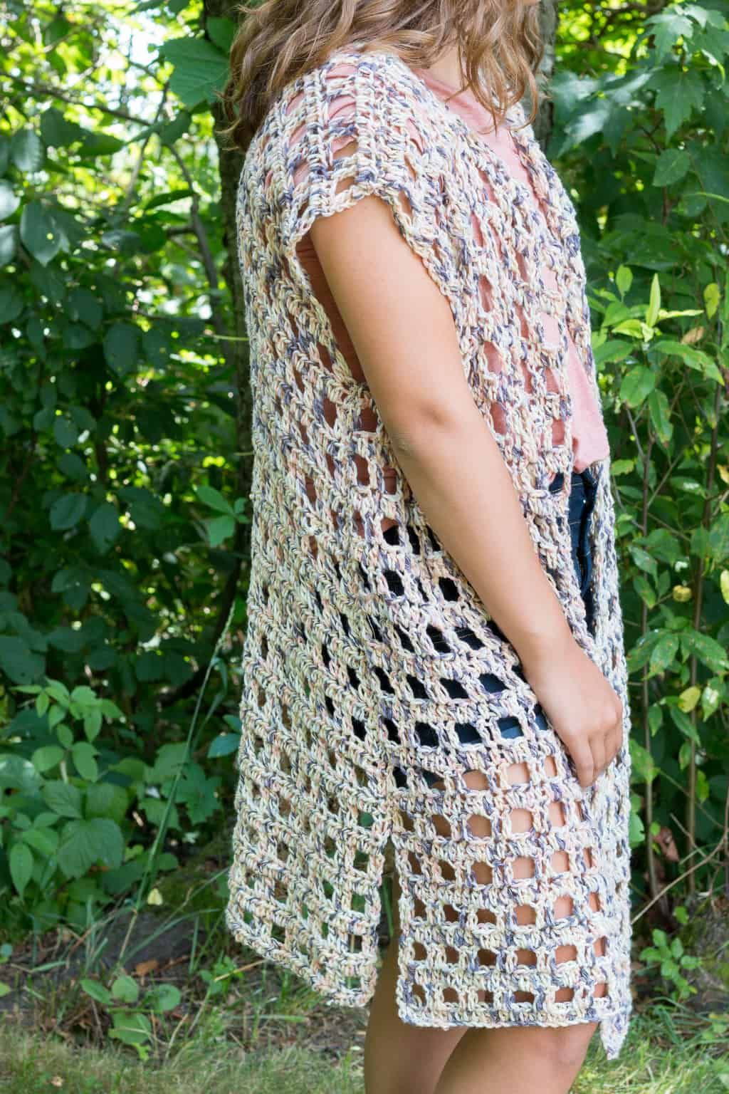 Free Mara Crochet Kimono Pattern Crochet Pinterest Crochet