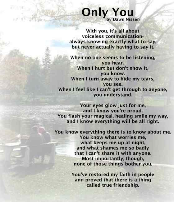 Beautiful Poems On Life Thread Beautiful Friendship