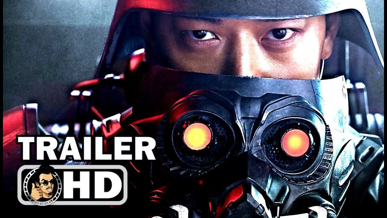 JINROH THE WOLF BRIGADE Trailer (2018) SciFi Action
