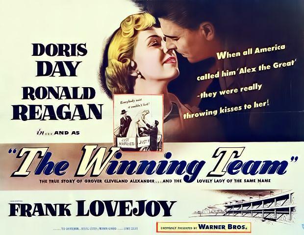 the winning team 1952 | Doris day movies, Dory, Alex the great