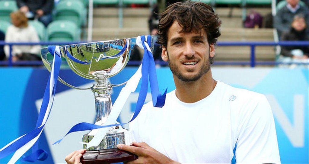 Feliciano Lopez  June 22, 2013 Eastbourne Trophy