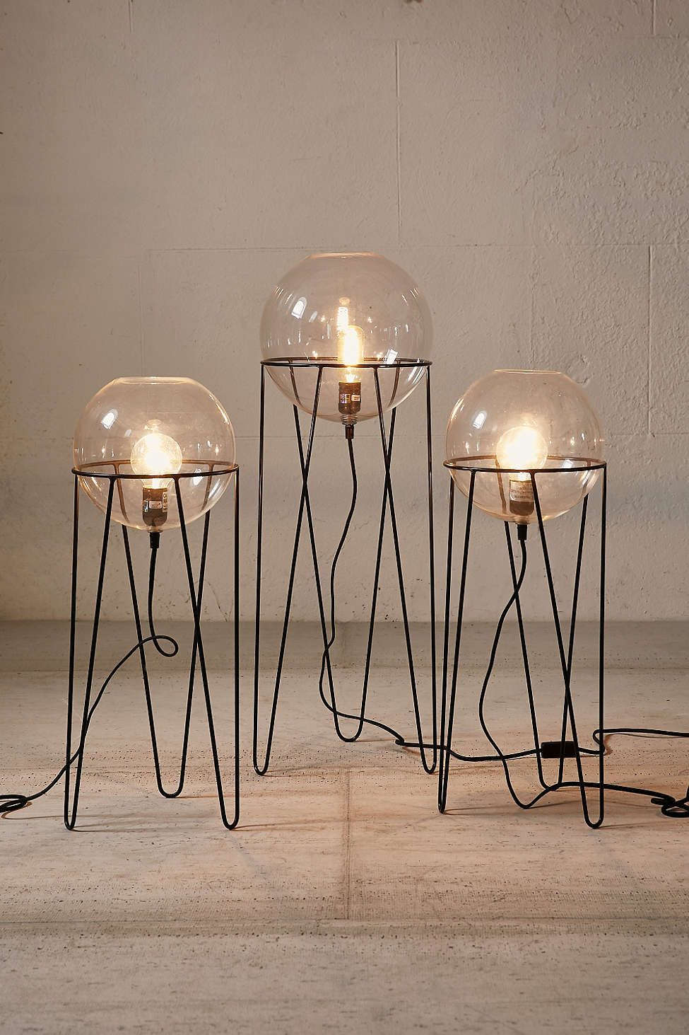 Lampe Pied Led Lampe Sur Pied Globe Baxter The Lighting Pinterest Lighting