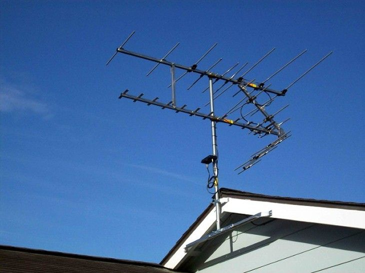 Hd Stacker Antenna Eave Mount Ken Board Outdoor Tv