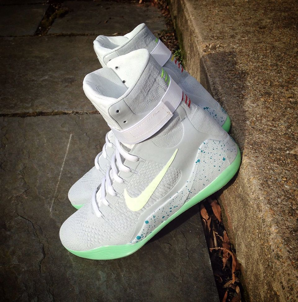 Cheap nike air mag china - Nike Kobe 9 Elite Air Mag Custom