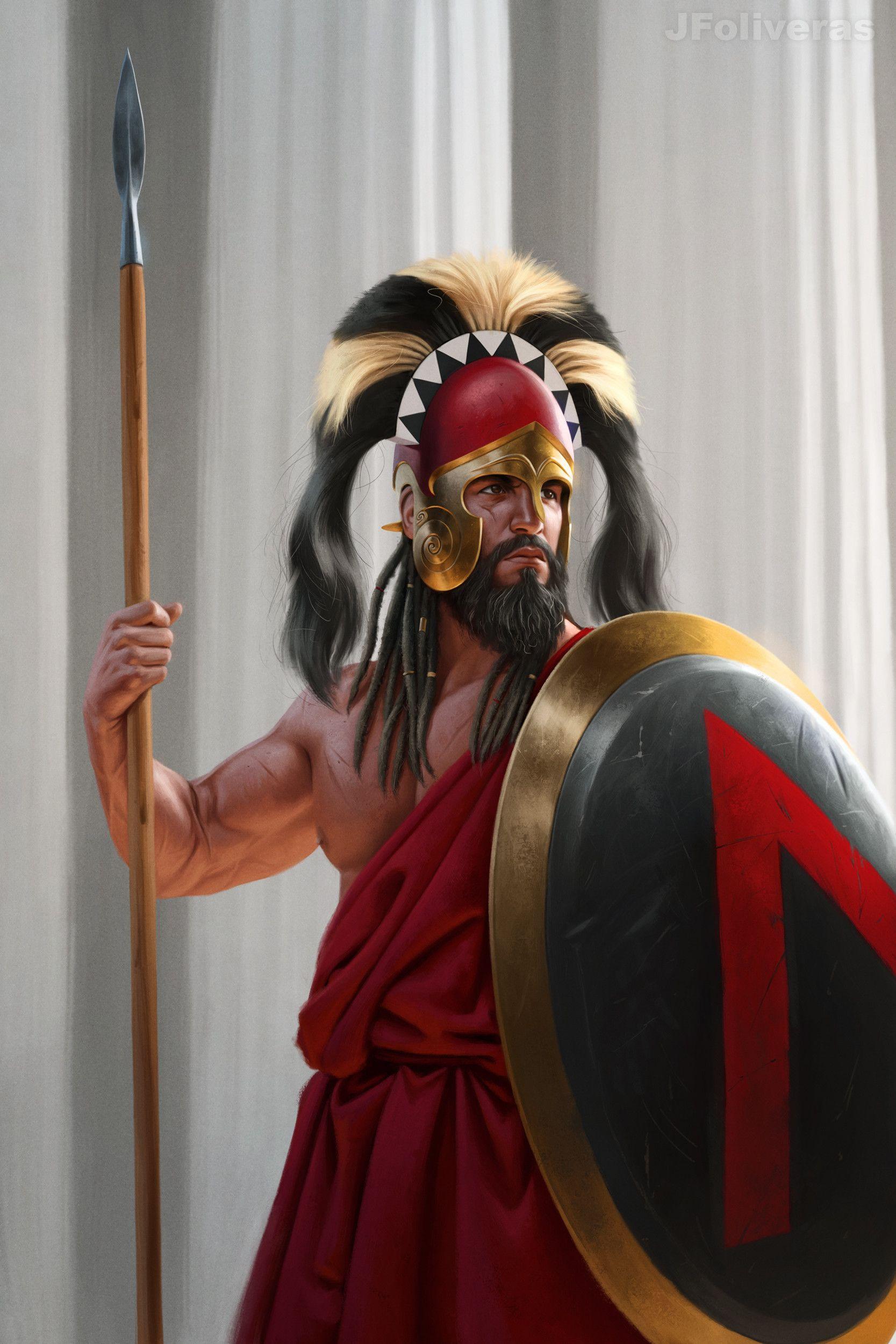 Персидский гвардеец из отряда бессмертных. IV в. до н.э