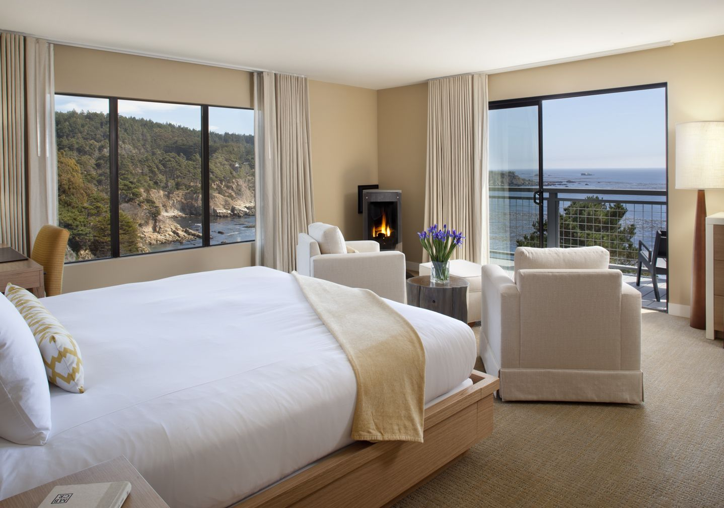 Newly remodeled Junior Suite at Timber Cove