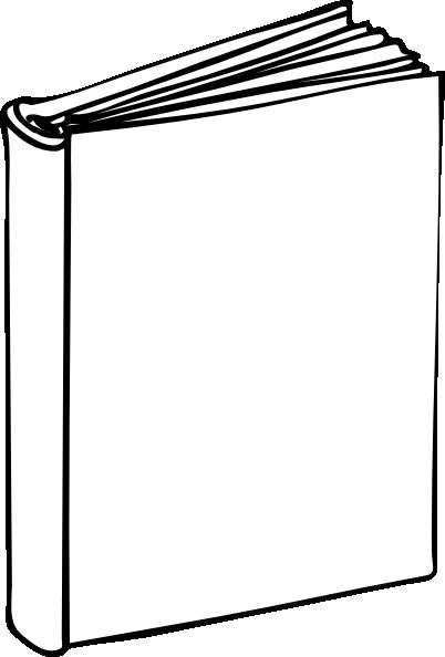 Blank Book clip art - vector clip art online, royalty free ...