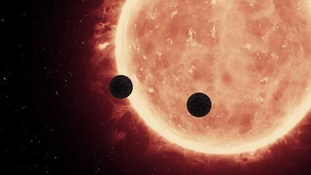 Recreación del tránsito de planetas frente a la estrella Trappist-1     En mayo se anunció el des...