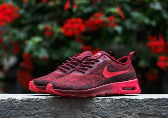 Nike Air Max Thea Jacquard - Team Red - Action Red - SneakerNews.com