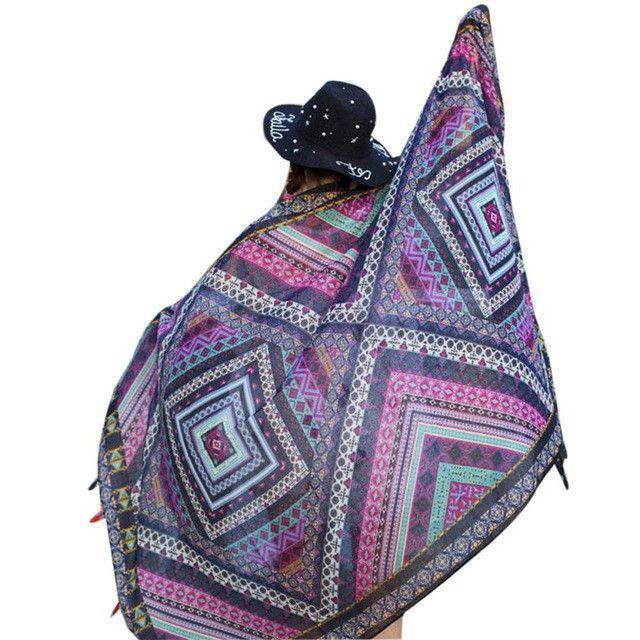 Sarong Wrap Tassel Shawl Beach Style Scarf | Products ...