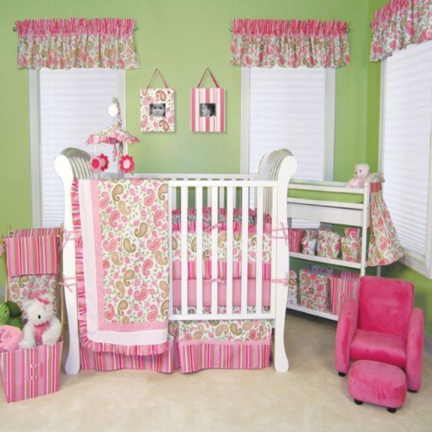 Pink And Green Bedroom Designs Magnificent Baby Girls Bedroom Decorating Ideas  Baby Room  Pinterest 2018
