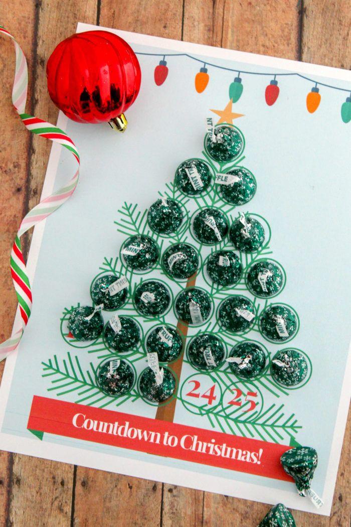 "Christmas Tree ""Countdown to Christmas"" Advent Calendar ..."