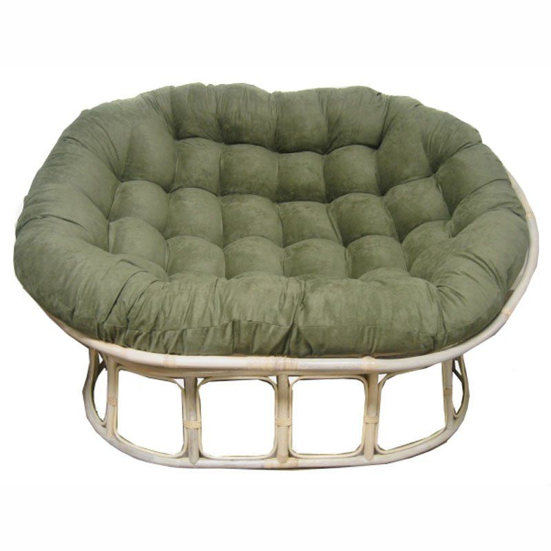 Blazing Needles Double Papasan Cushion Cafe De Paris