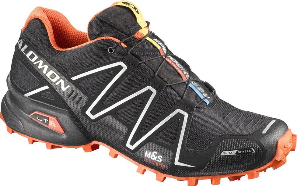 salomon speedcross 3 cs black orange ii