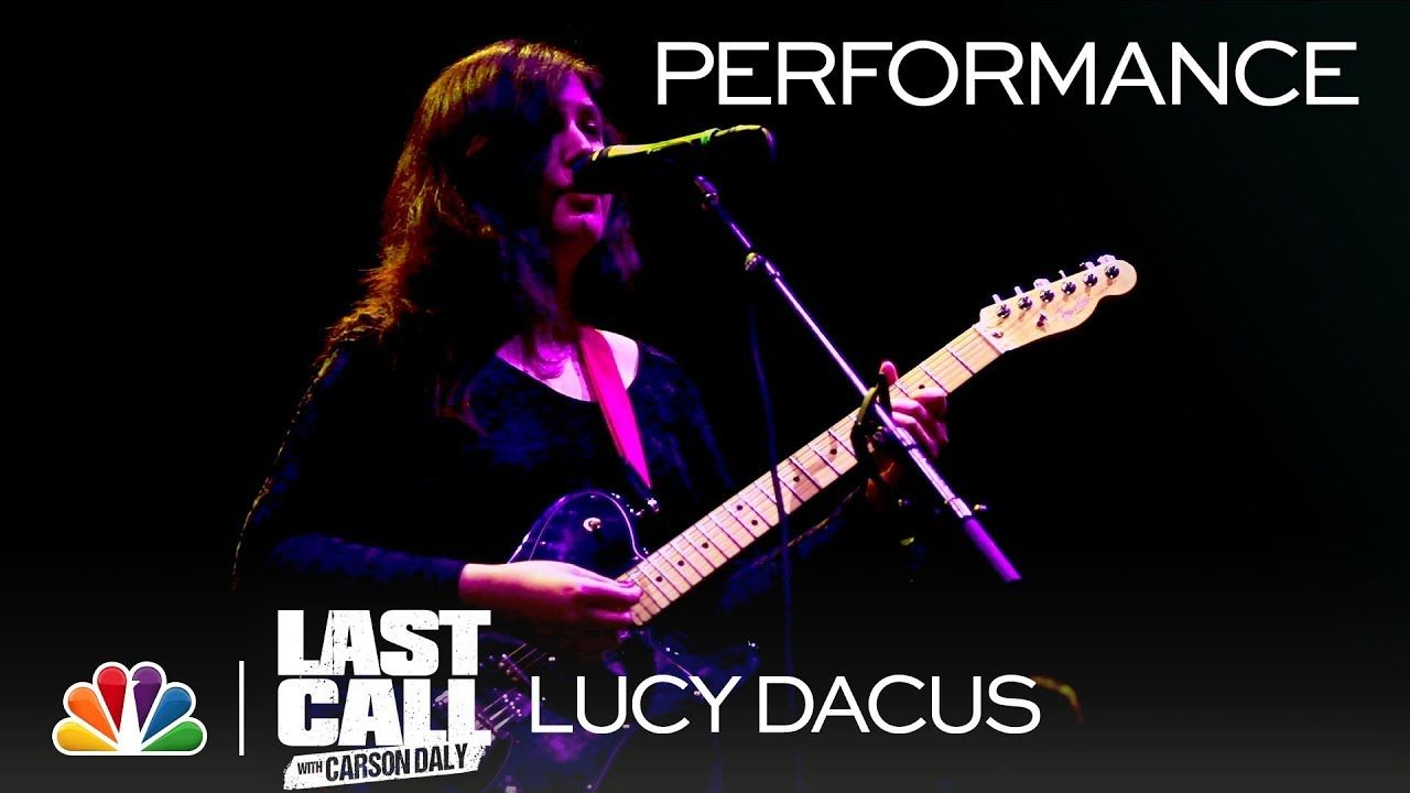 """Lucy Dacus """"Night Shift"""" Last Call with Carson Daly"""