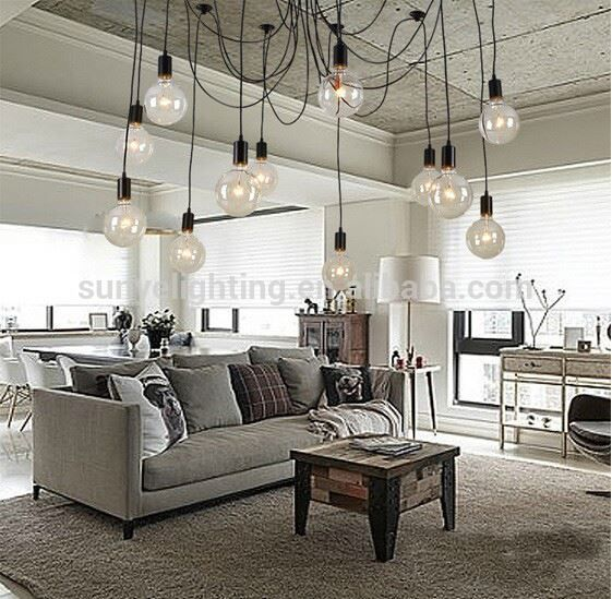 Simple Vintage Antique Track Lighting Hanging Pendants Photo Detailed About