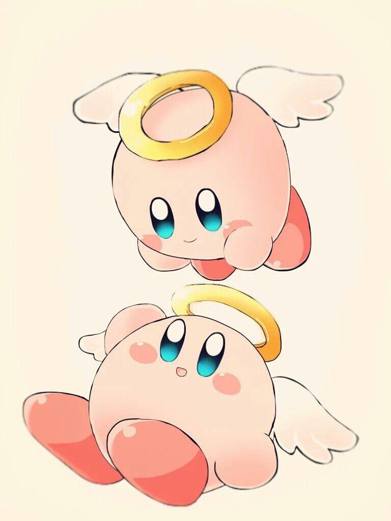 Angel Kirby Kawaii Pinterest Videojuegos Juegos And Comics