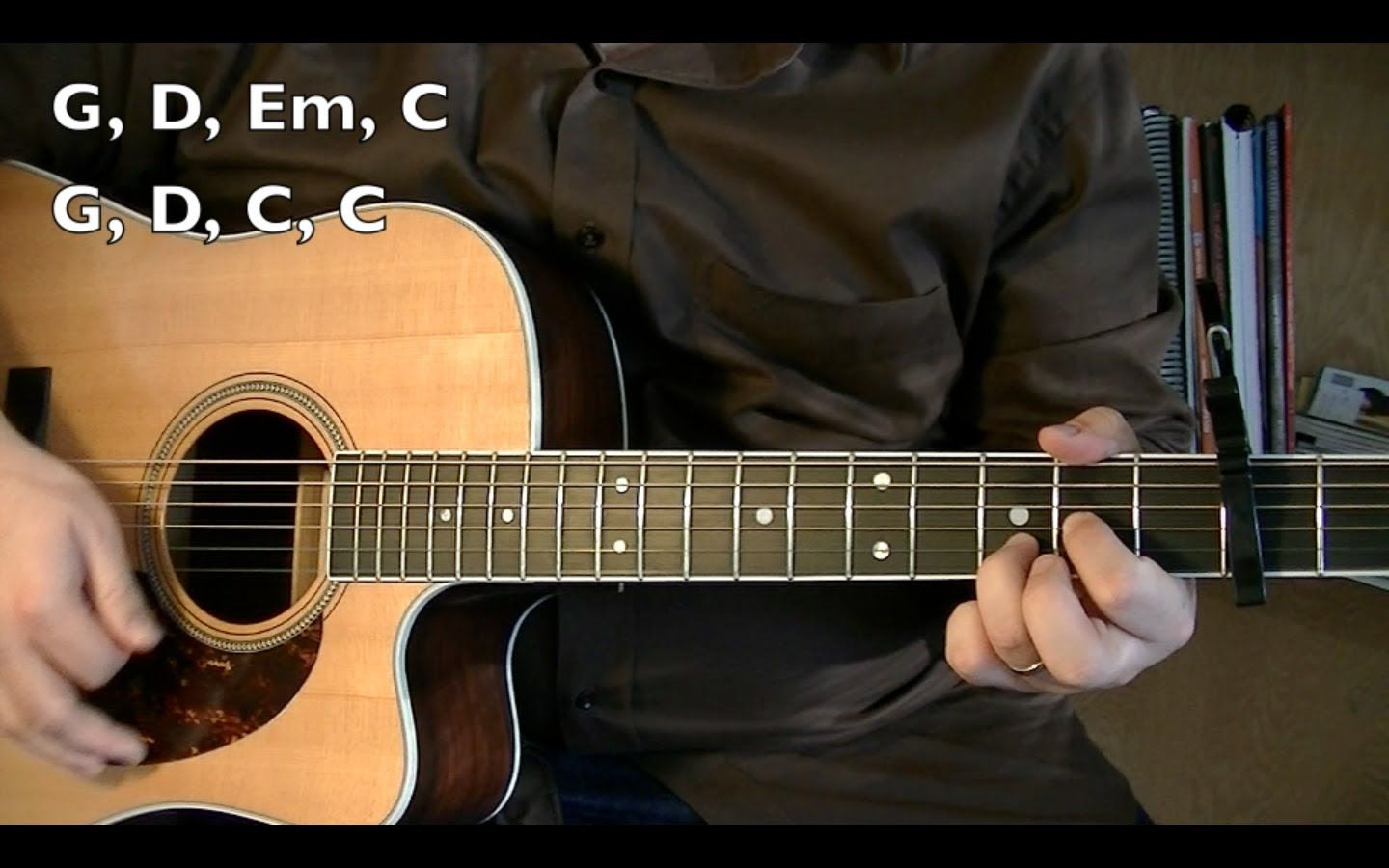 Wagon Wheel Guitar Lesson Ocms Or Darius Rucker Youtube