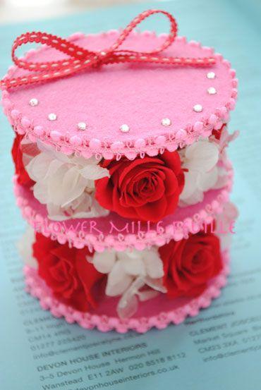 preserved flower gift♡Flower MIlle-feuille'Ispahan'♡ by 'gift Atelier ATSUKO.i'