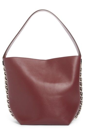 3b994da309c Free shipping and returns on Givenchy Infinity Calfskin Leather Bucket Bag  at Nordstrom.com. Gleaming chain-link hardware frames the impeccably  modern, ...