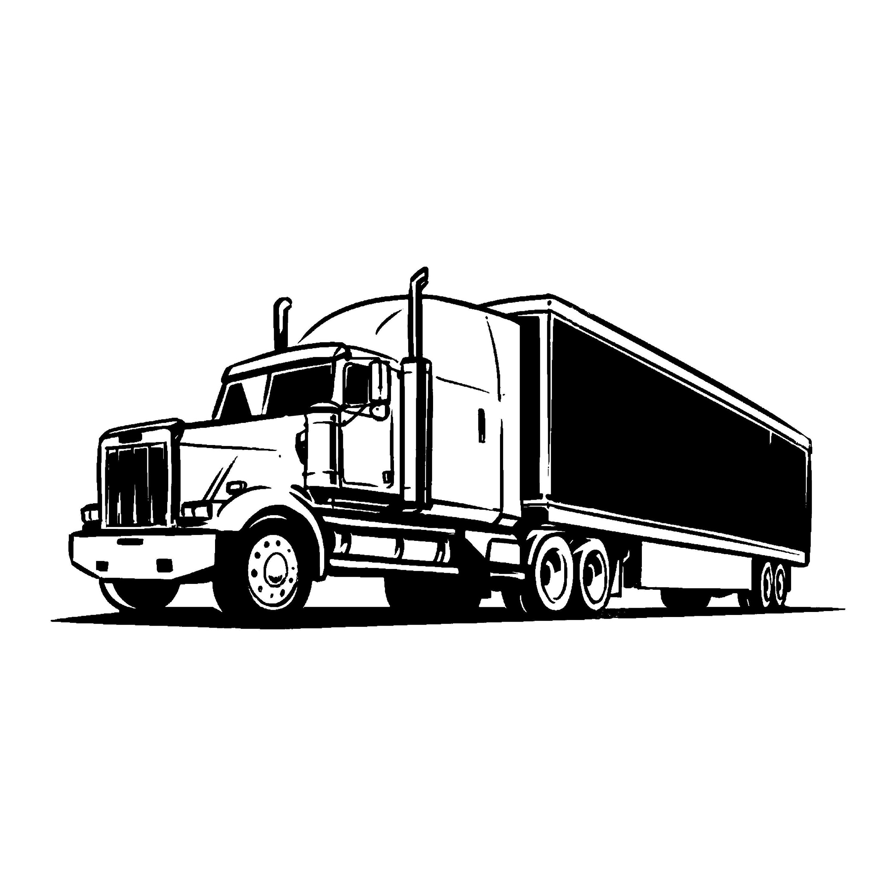 Heavy Truck Logo 8 Autobucket Of Boltsclunker Svg Eps Etsy Heavy Truck Trucks Cars Coloring Pages