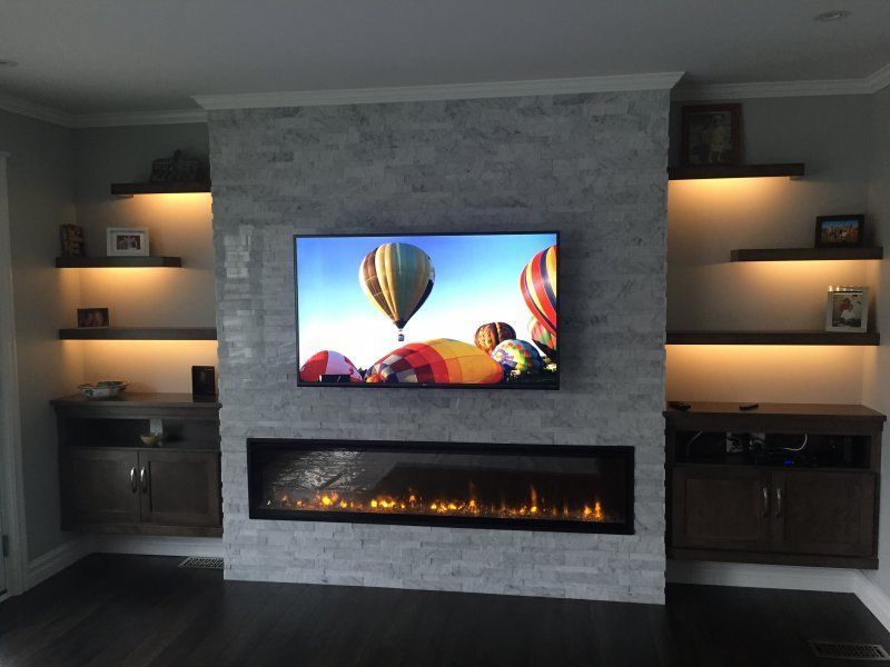 Built In Electric Fireplace Built In Electric Fireplace