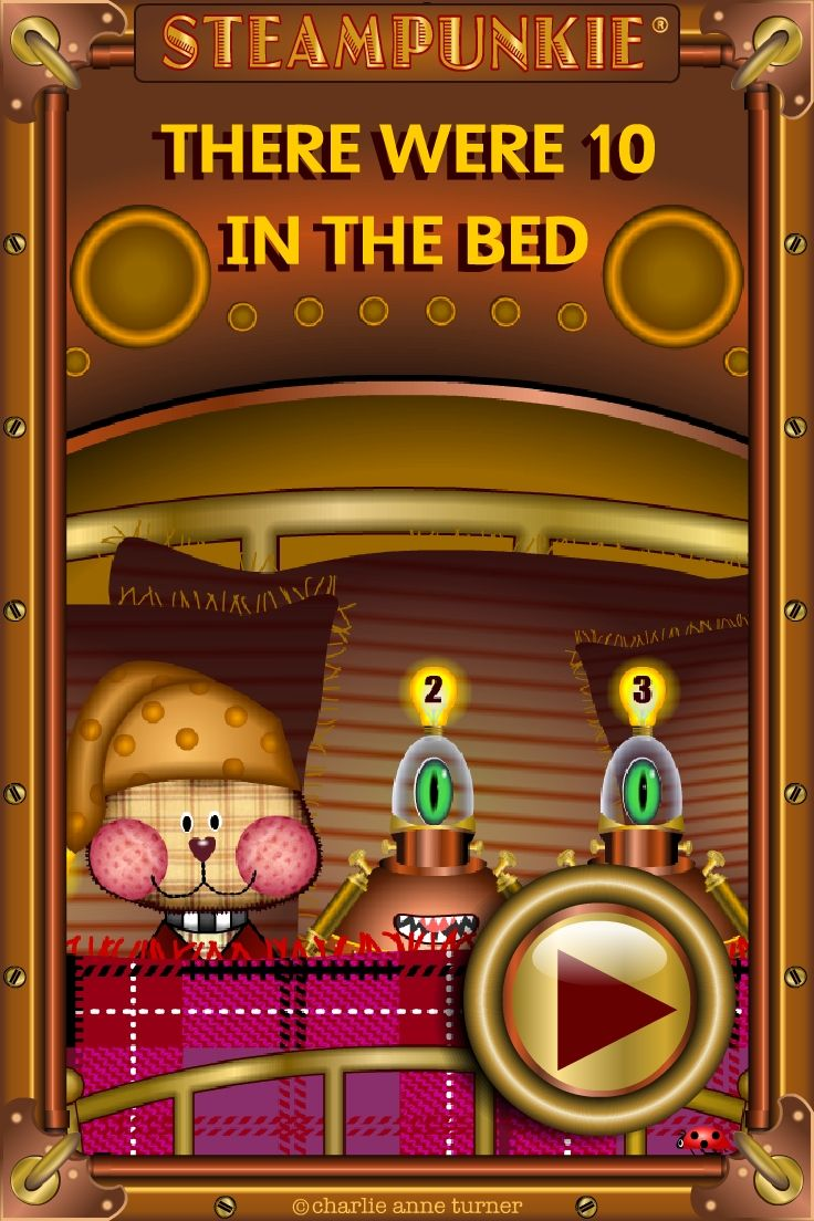 Pin by The Design Ark on Steam Punkie | Ten in the bed