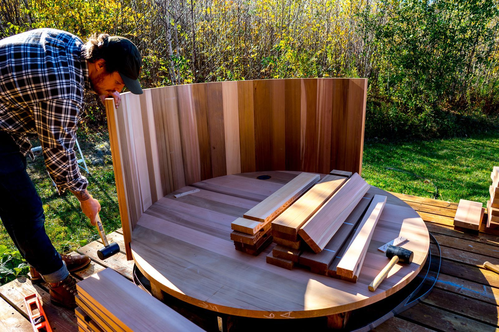 How to build a woodfired hot tub in 2020 hot tub