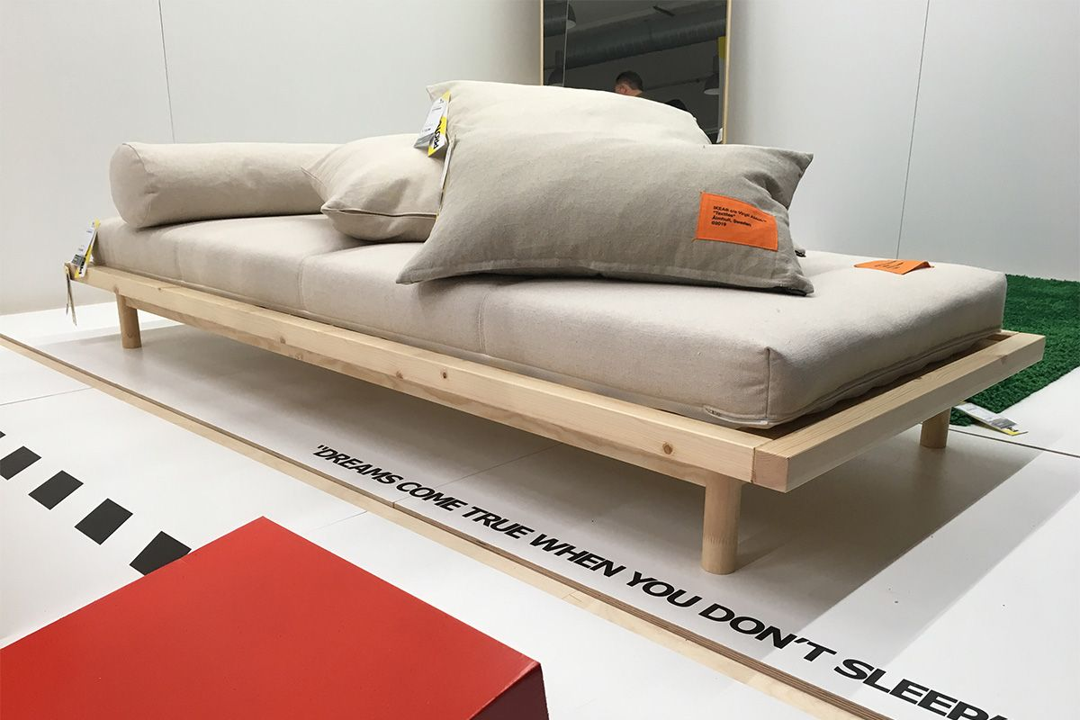Virgil Abloh X Ikea Markerad Release Date Prices In 2020 Ikea And Off White Loft Interiors Fold Down Beds