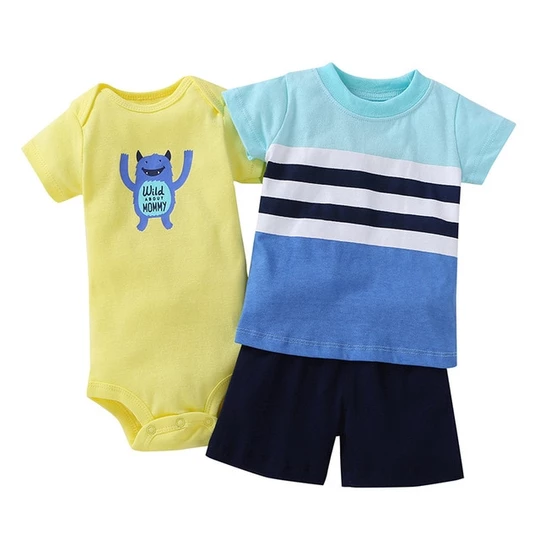 Free Shipping Baby Boy/'s//Girl/'s Summer Top+Short Outfit Set
