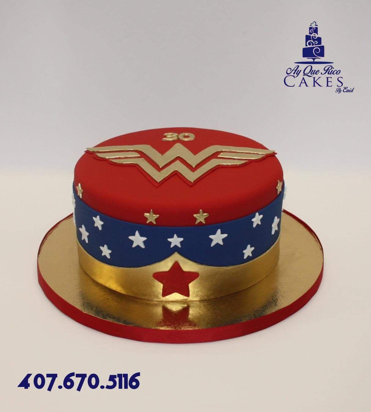 Wonder Woman Cake Wonder Woman Birthday Party Wonder Woman