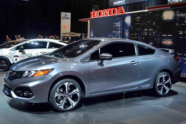 2014 Honda Civic Coupe New Features & Aesthetic Changes