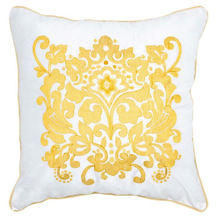 24-Inch Rennie /& Rose Amsterdam Throw Pillow Yellow