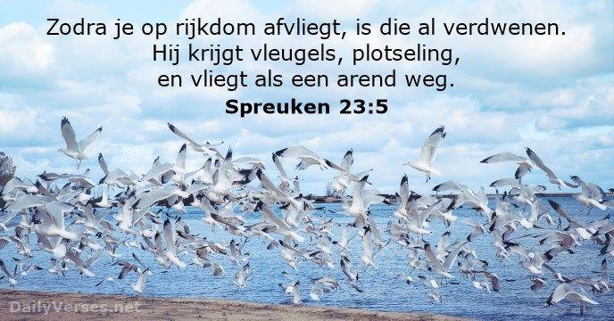 spreuken 23 Spreuken 23:5   dailyverses.  Bijbel   Pinterest spreuken 23