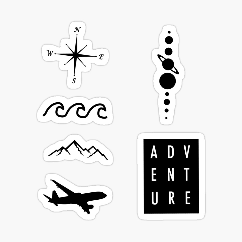 Favorites Redbubble Aesthetic Stickers Music Stickers Travel