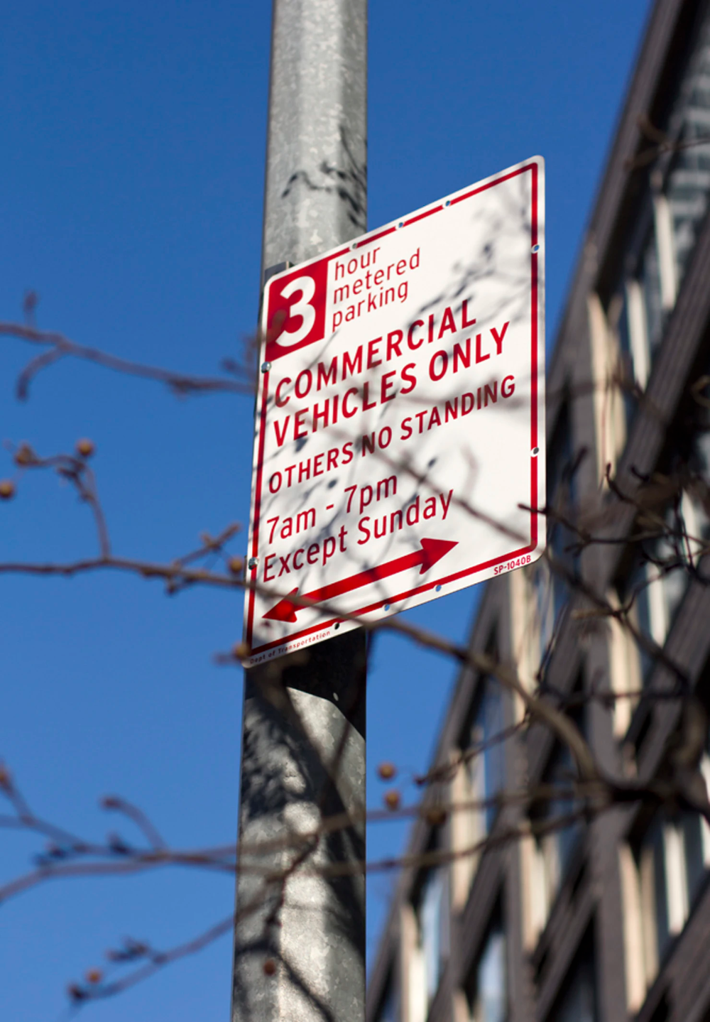 New York City Parking Signs Story Pentagram Parking Signs Wayfinding System City
