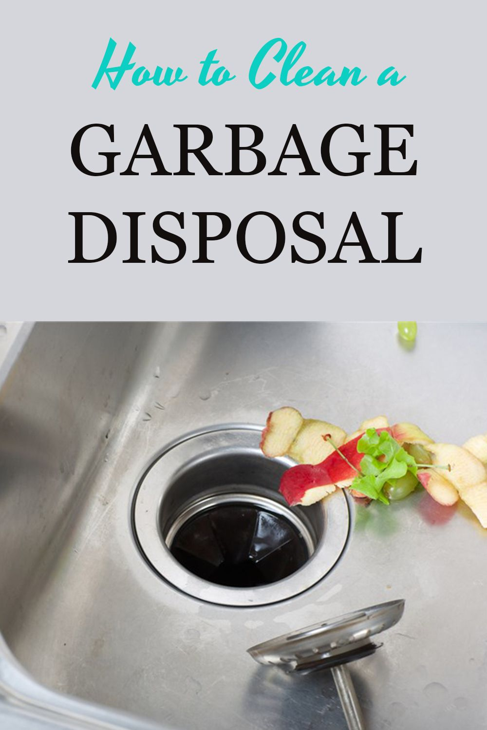 Got a funky smell coming from your garbage disposal? Clean