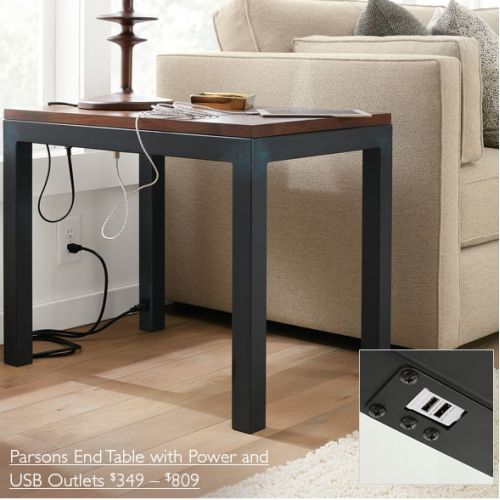 Side Table With Usb End Tables With Storage End Tables Sofa End Tables