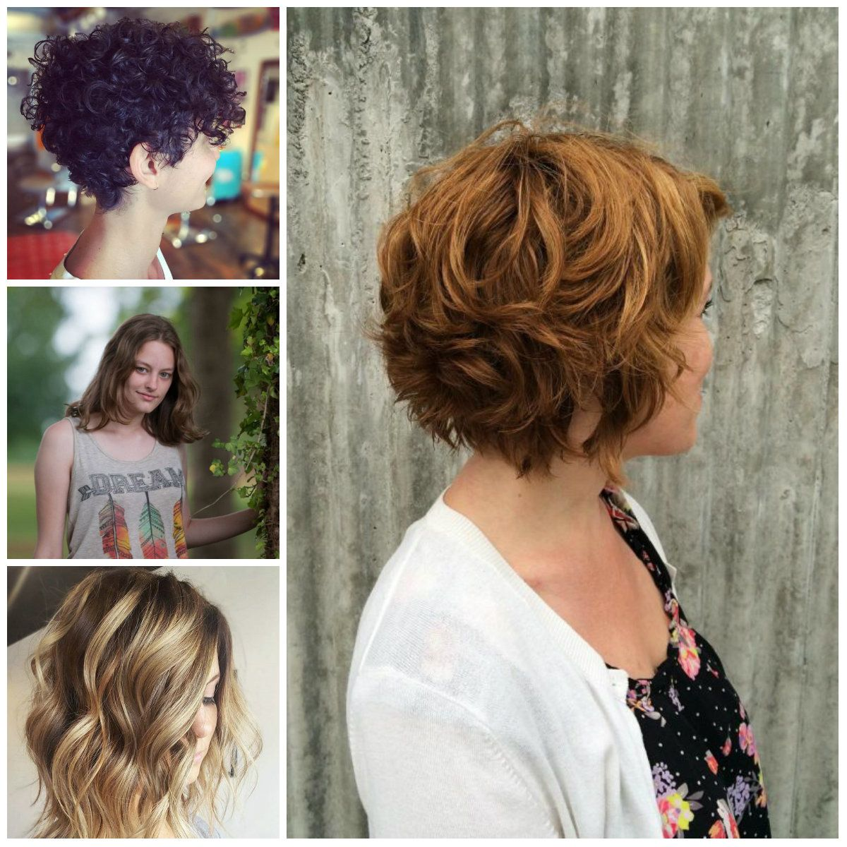 Short Haircuts For Curly Hair 2017 Trend Curly Hairstyles 2018