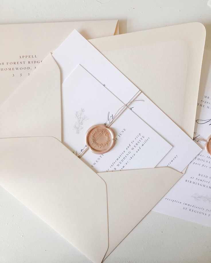 custom invitations. — M. Harris Design
