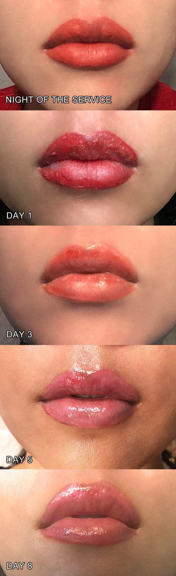 Permanent Makeup & Lip Tattoos I Got My Lips Done (& Here