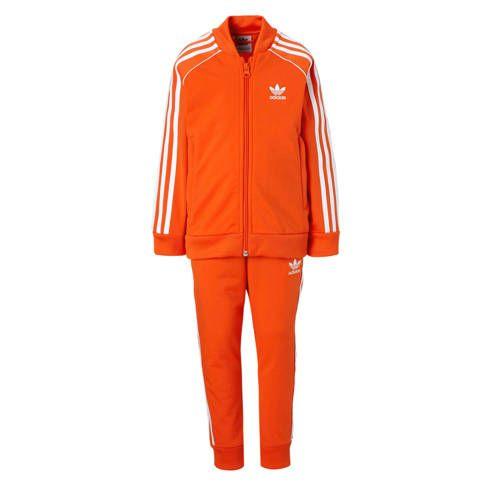 adidas Originals trainingspak oranje - Adidas originals ...