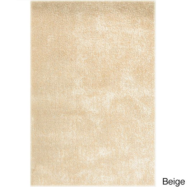 Ethan Machine Made Synthetic Modern Area Rug (8' x 10') (Beige- (8' x 10')), Beige, Size 8' x 10' (Polyester, Abstract)