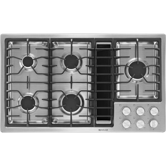 Jenn Air 36 Jx3 Gas Downdraft Cooktop Jgd3536bs Has Griddle