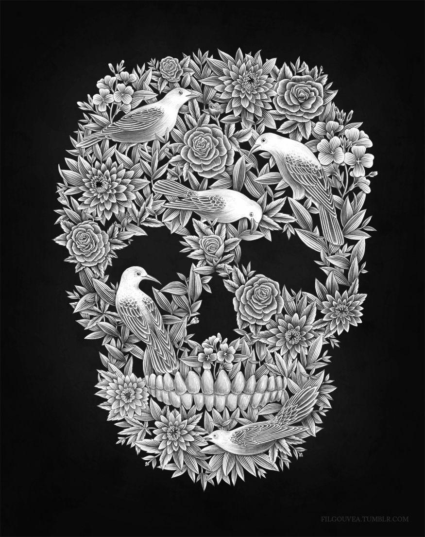 Pin On Kleurplaten Skulls