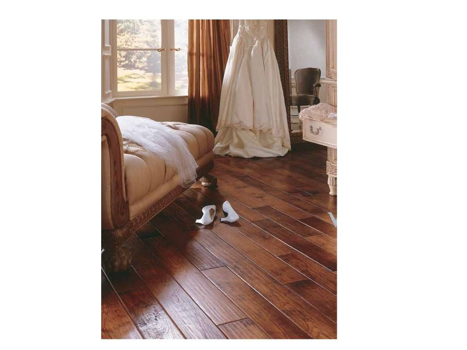 Virginia Vintage Sorghum Color Hickory Solid Wood Floor 1820 Rating 3 4 5 Planks 50 Year Finish Warranty