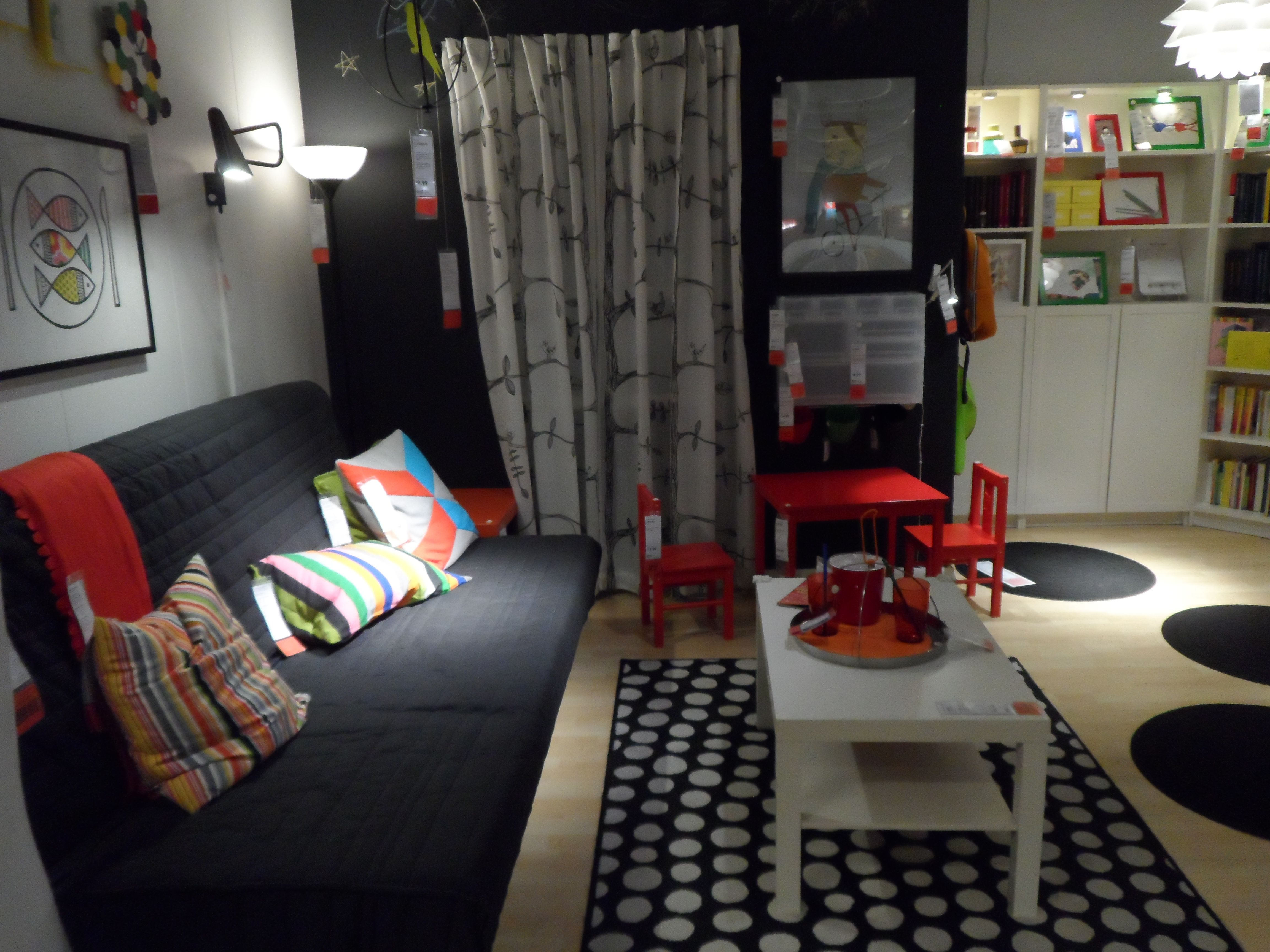 ikea showroom living room four chairs playroom or family shopping
