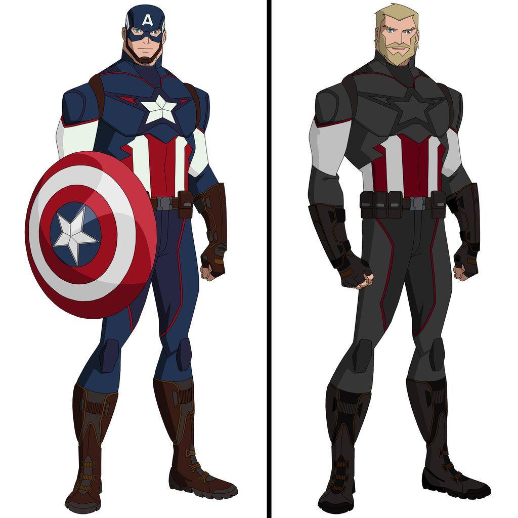 Captain America Infinity Wars By Alizen96 Com Imagens Capitao